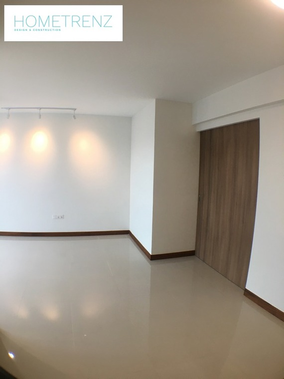 Mcnair 4 room project by Hometrenz Design & Construction - Bedroom Completed Below 800 sqft - Recommend.sg