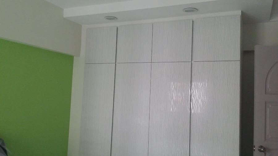 Projects Completed by Uniconnect Interior - Wardrobe Walk In Wardrobe Wooden - Recommend.sg