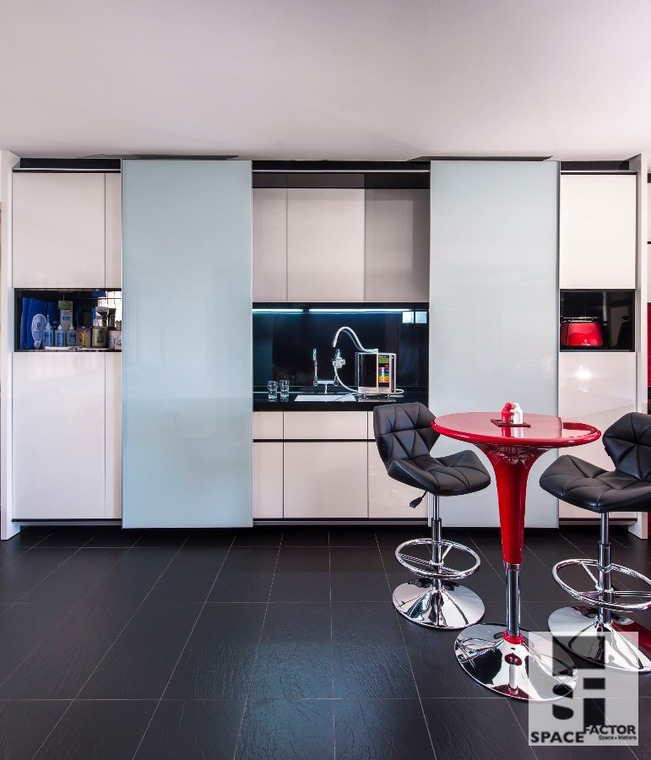 Chic Urbanite by Space Factor Private Limited - Completed Bathroom Walk-in-wardrobe Kitchen Bedroom European Urban Chic Furniture Kitchen Cabinet Electrical Lighting TV Cabinet / Console Wall Decor - Recommend.sg