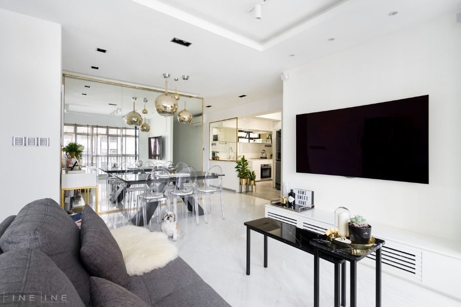 90 Tanglin Halt by Fineline Design Pte Ltd - Completed Modern 800 - 1200 sqft HDB - Recommend.sg
