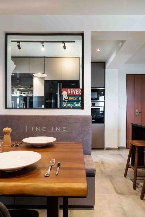 31 Ghim Moh by Fineline Design Pte Ltd - Completed 800 - 1200 sqft Modern HDB - Recommend.sg