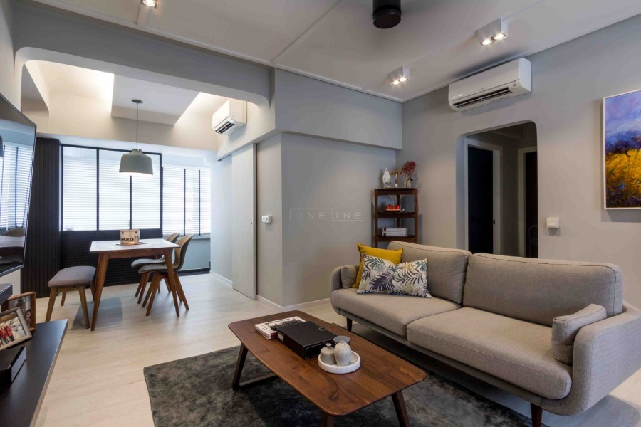 Moh Guan Terrace by Fineline Design Pte Ltd - Completed 800 - 1200 sqft HDB Modern - Recommend.sg