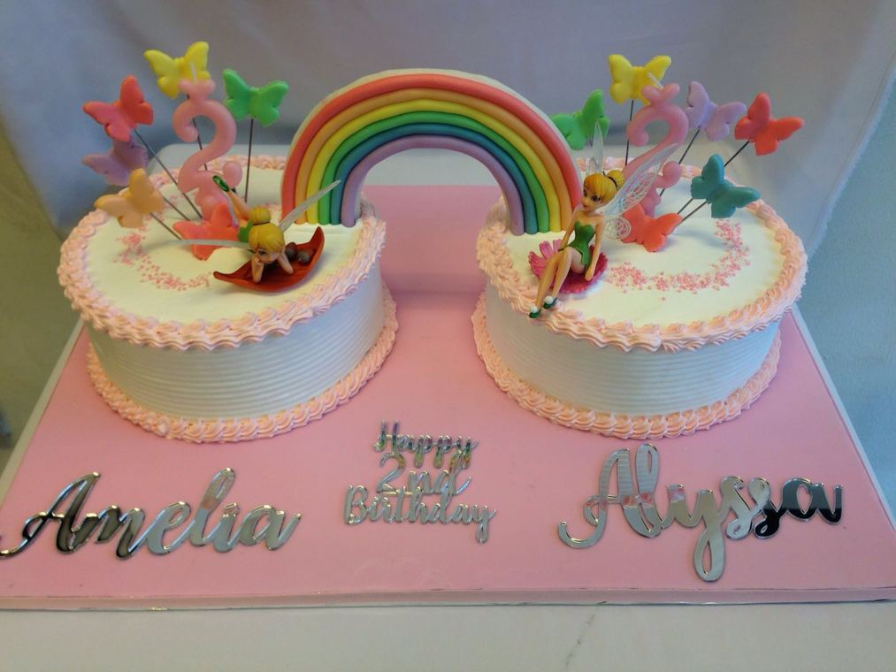 Rainbow Cakes By Temptations