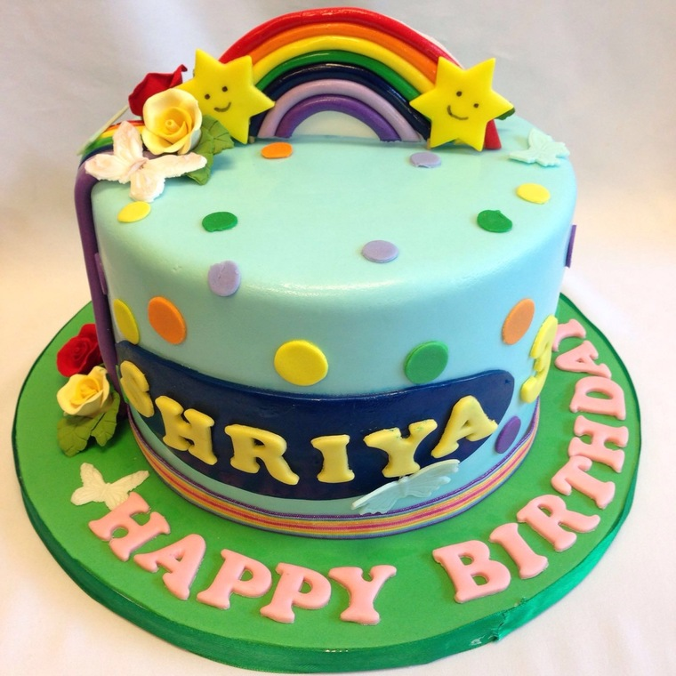 Rainbow Cakes By Temptations