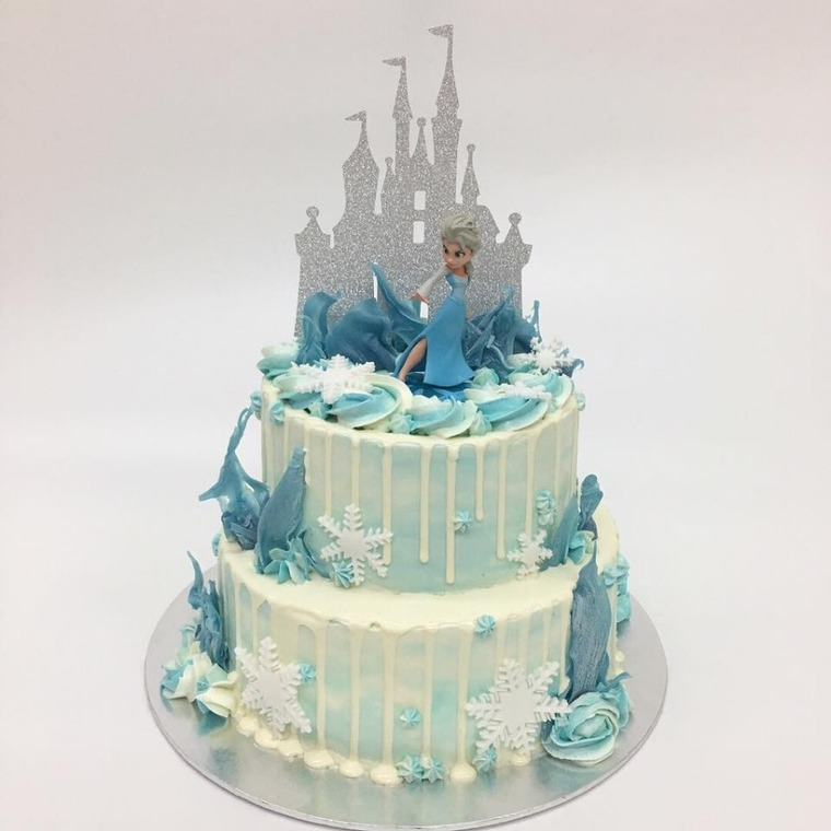Disney Cakes by Monice Bakes - Birthday Baby Fullmoon 1st Birthday Baby 100 Days Kids Birthday Cartoon Fairy Tales Princess Tsum Tsum - Recommend.sg